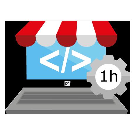 Servicio por hora en desarrollo para PrestaShop