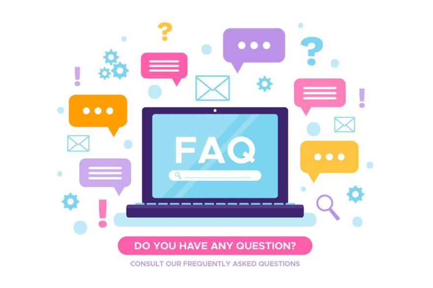 que son las faqs o preguntas frecuentes y como usarlas