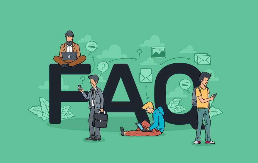 que son las faqs o preguntas frecuentes