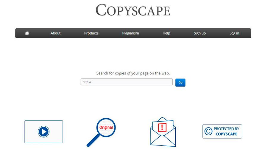copyscape contenido duplicado