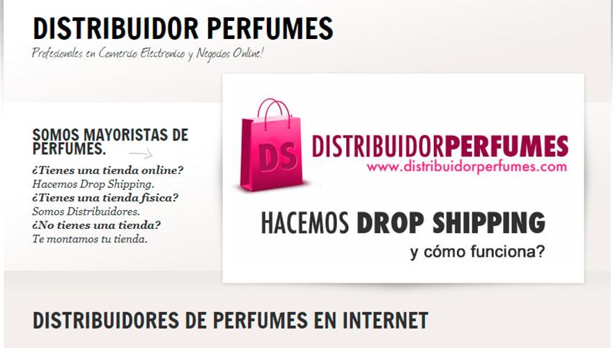 proveedor dropshipping distribuidor perfumes