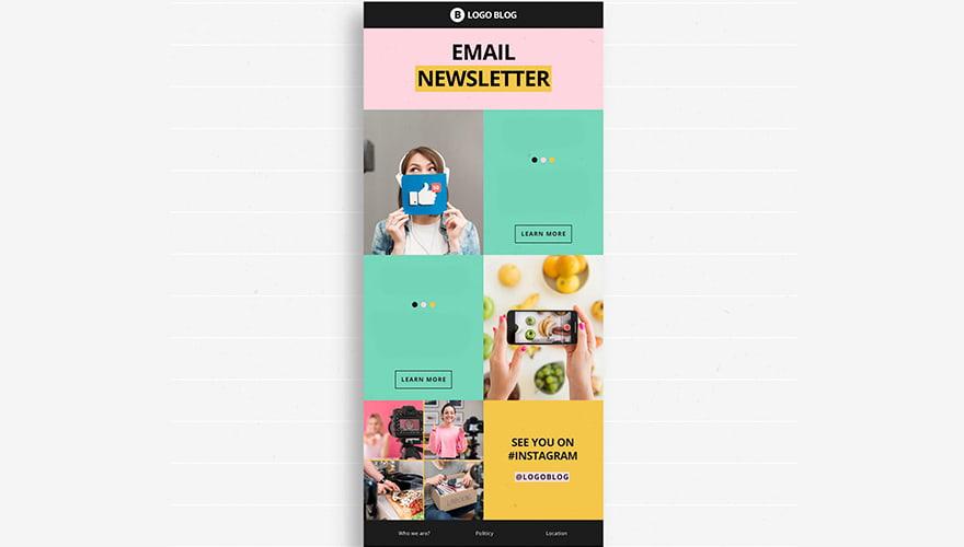 ejemplo newsletter