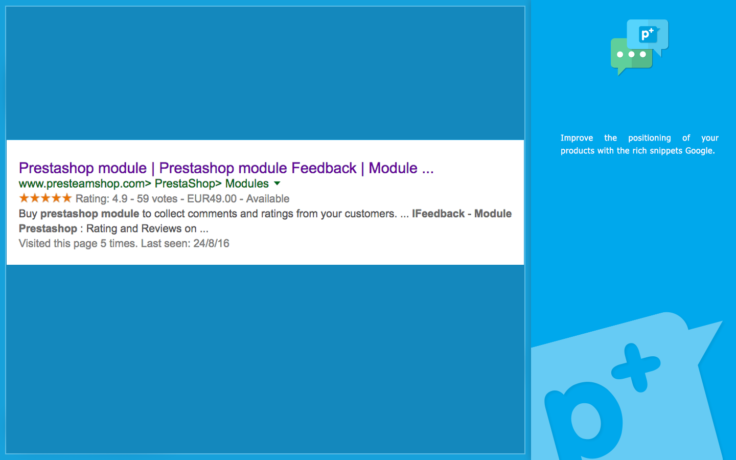 iFeedback - Prestashop Module: Rating and Comments on the shopping experience